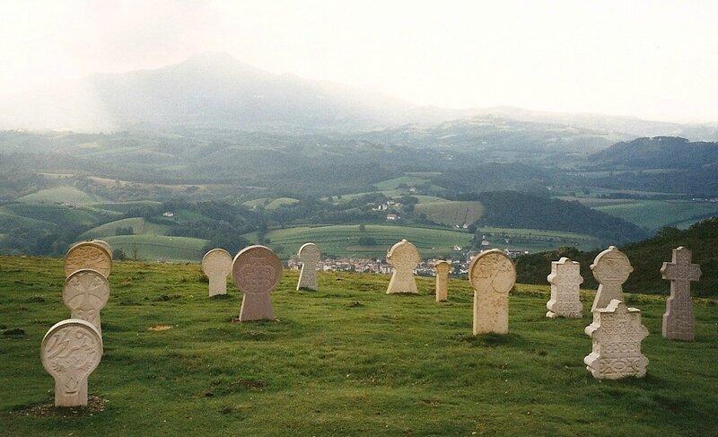 cimetière basque