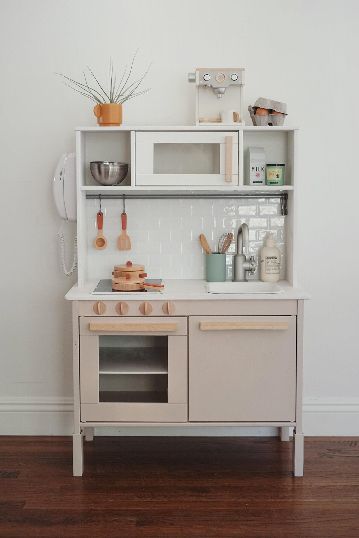 mini cuisines en bois