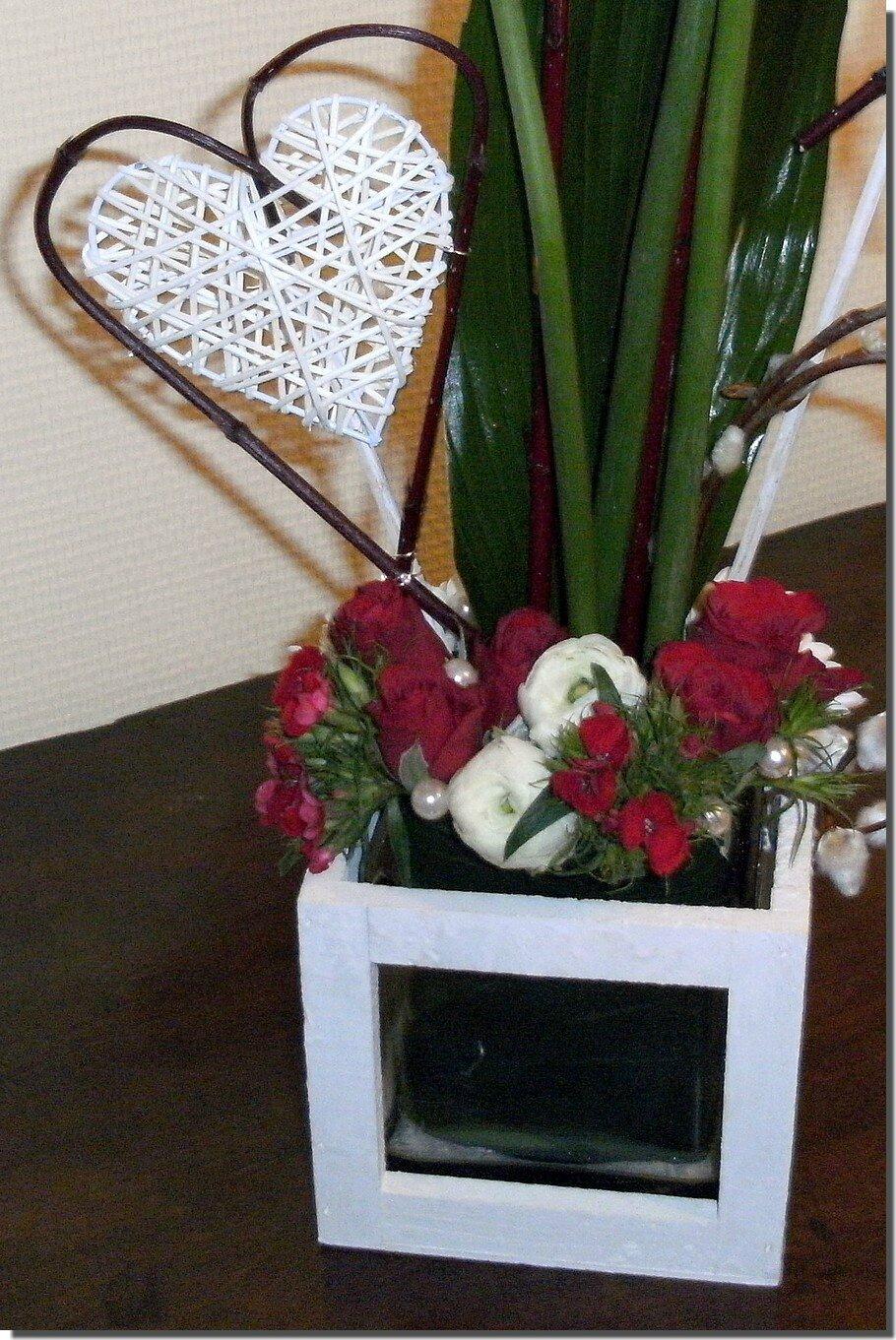 Montage Floral De La St Valentin Loisirs Cratifs