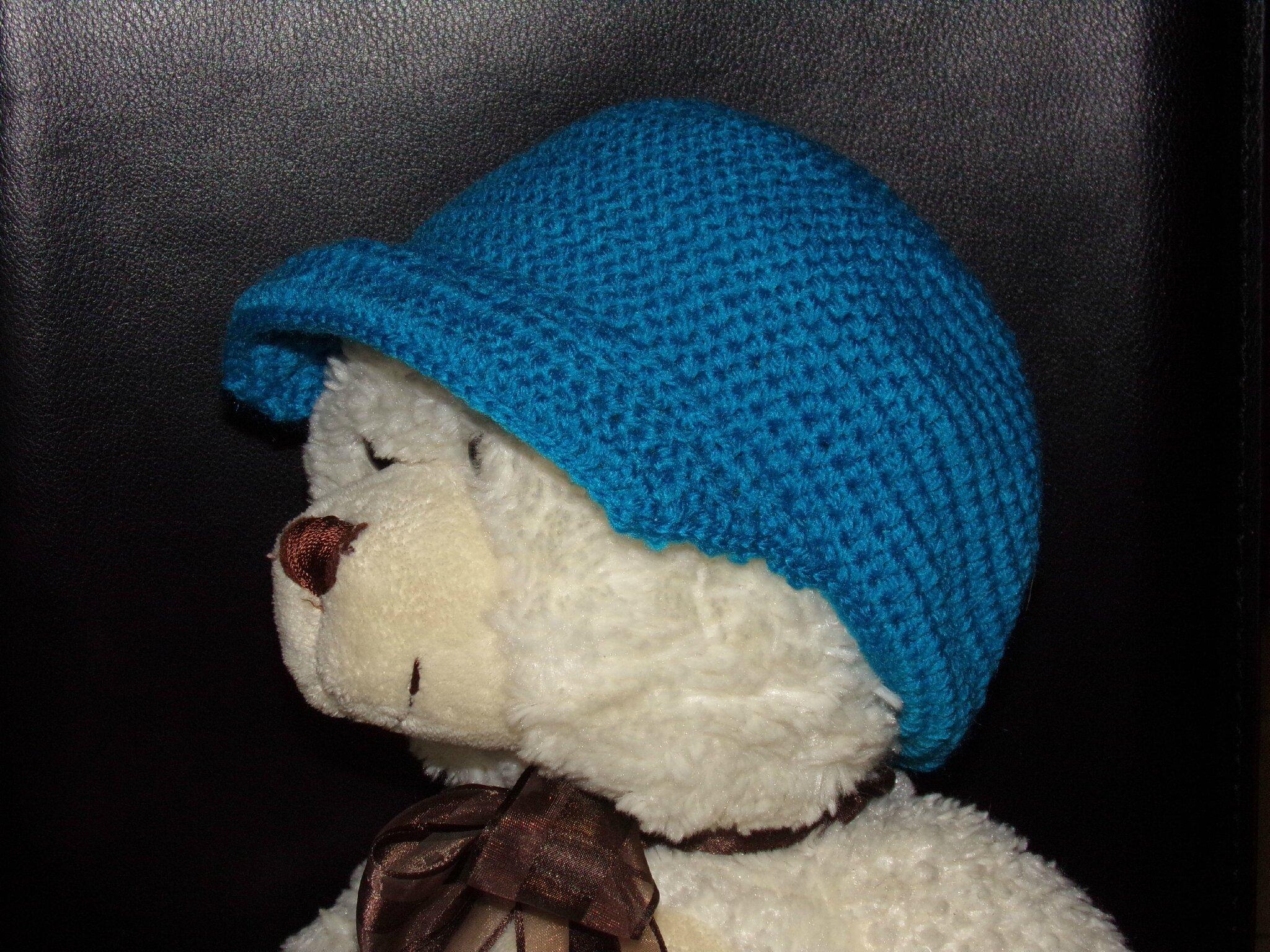 Casquette Bebe Au Crochet