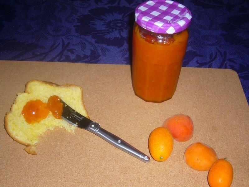 confiture abricot kumquat