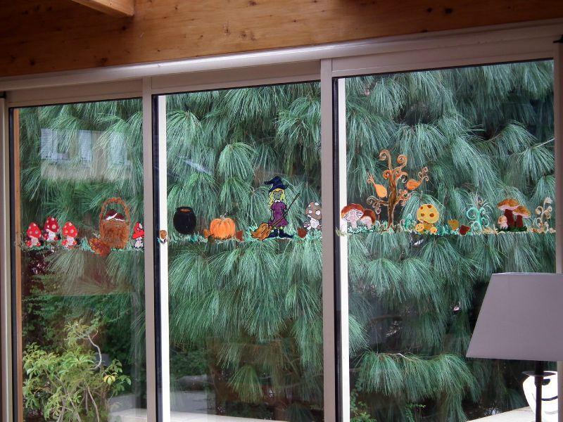 Deco Fenetre Halloween Bricolage Facile D Co Fen Tre