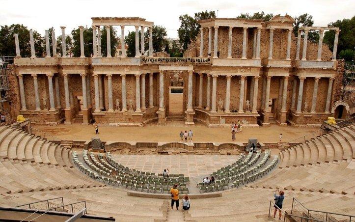 théâtre romain de Merida Estrémadure acheter immobilier en espagne 2