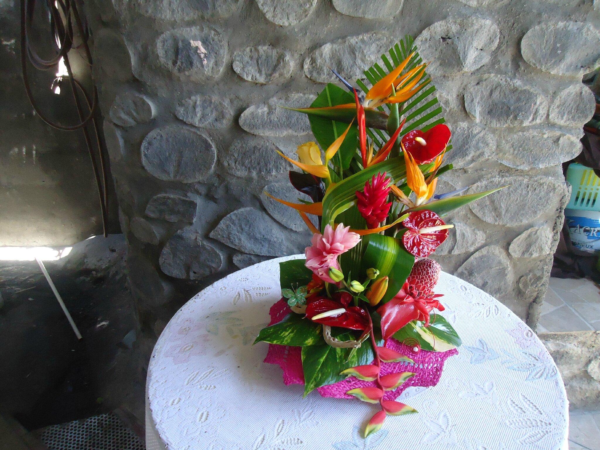 Compositions Florales Exotique Album Photos Les Fleurs