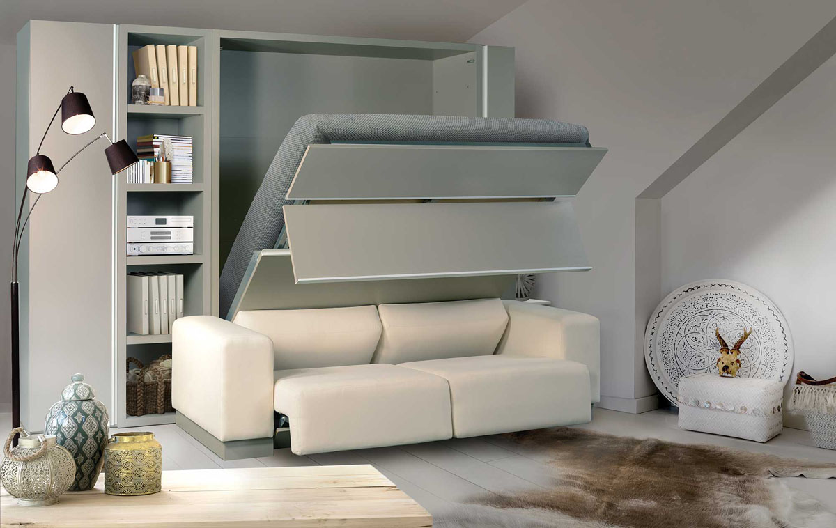 10 different murphy beds to maximise the use of small spaces best wall beds with minimal footprint colour my living