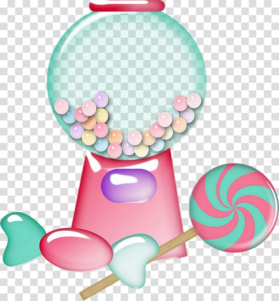 Chewing Gum Gumball Machine Candy Bubble Gum Chewing Gum Transparent Background Png Clipart Hiclipart