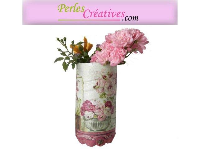 transformer une bouteille de lait en vase