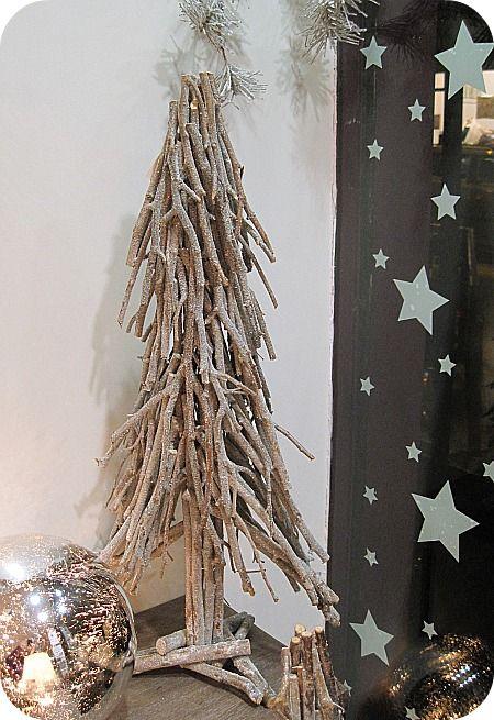 Decoration De Noel Avec Des Branches De Bouleau