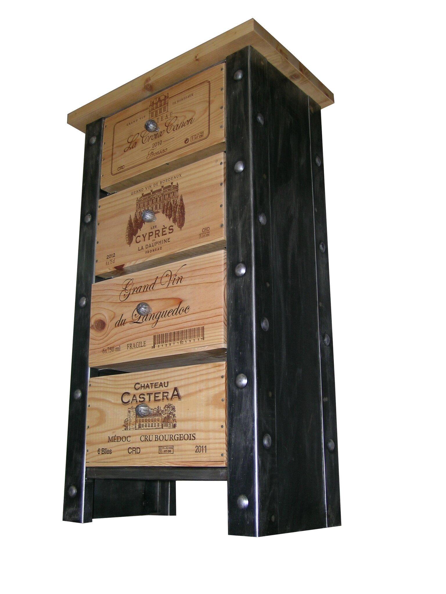 Meuble Caisses De Vins Stockages Bouteilles De Vins