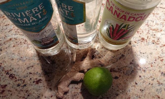 rhum arrange gingembre citron vert la