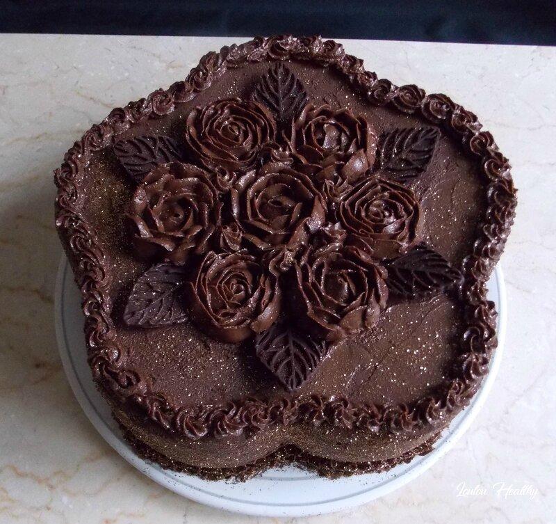 gateau butternut au chocolat fourré speculoos et au poire2