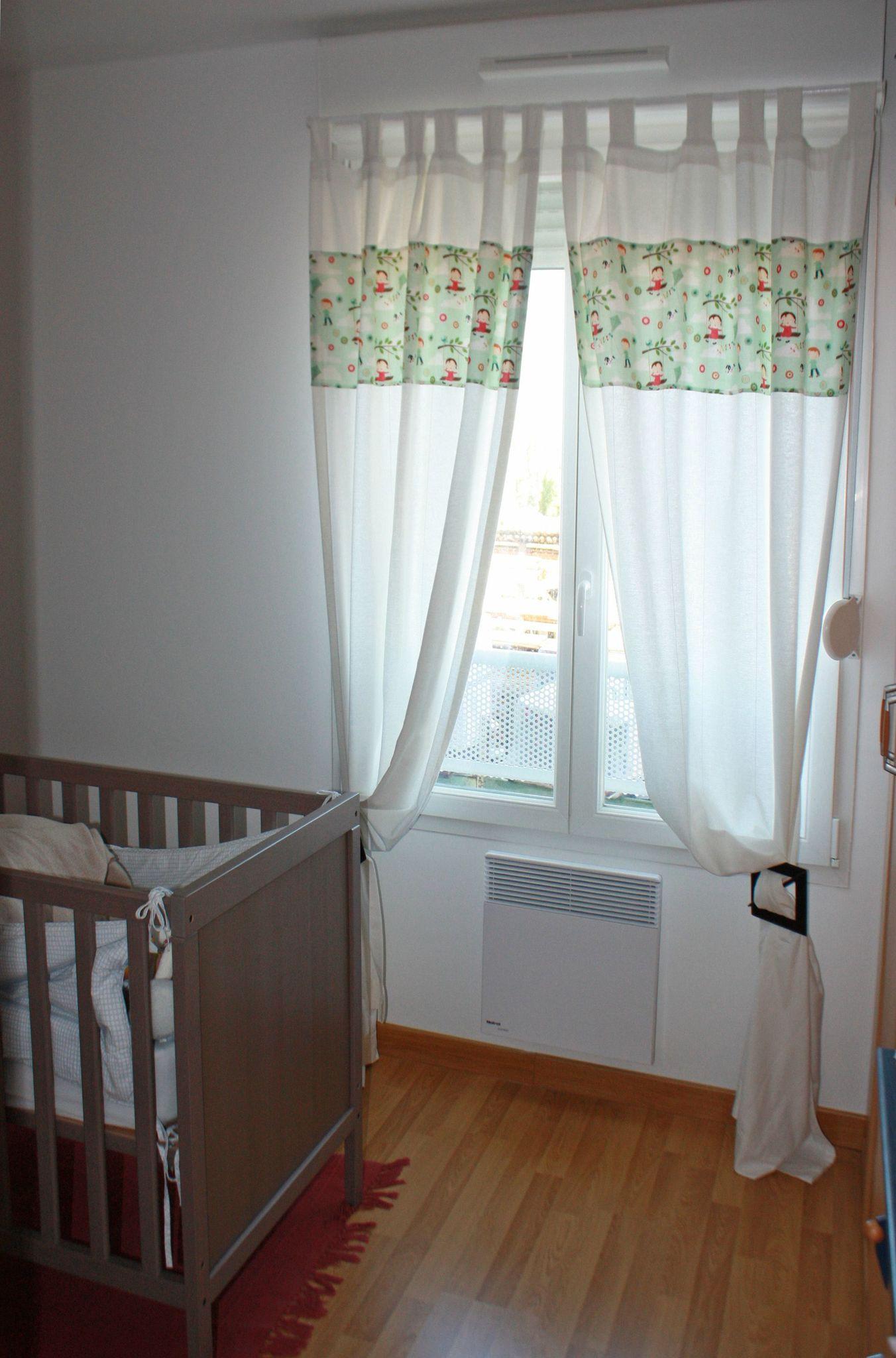 la chambre du chaton les rideaux