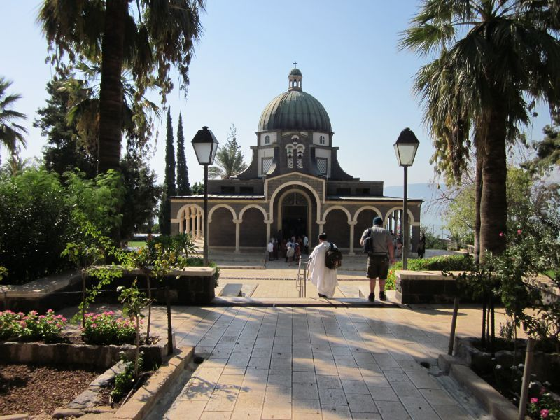 The church of the Mount of Beatitudes