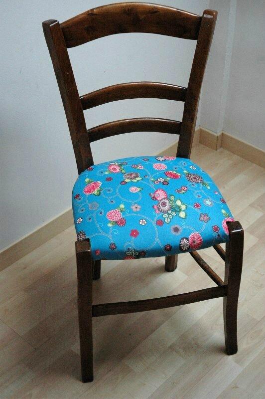 Tuto Chaises Ou Comment Retapisser Une Chaise En Paille Ou Autre Mes Nuits Claires