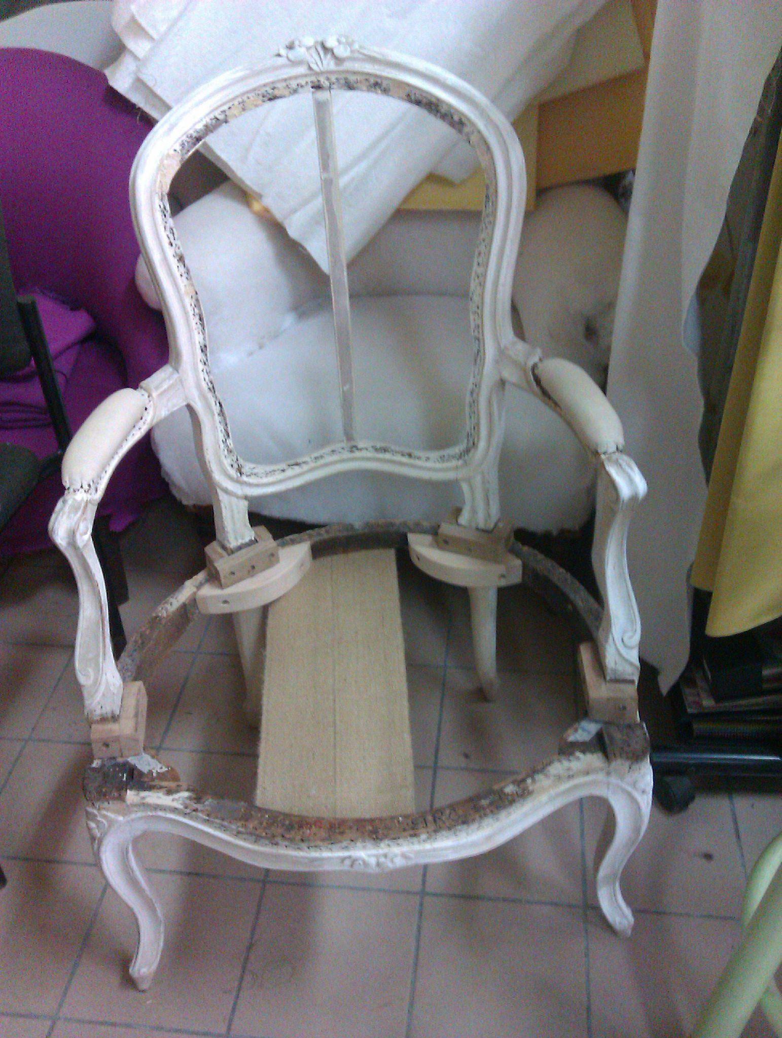 fauteuil louis xv et salon louis xvi
