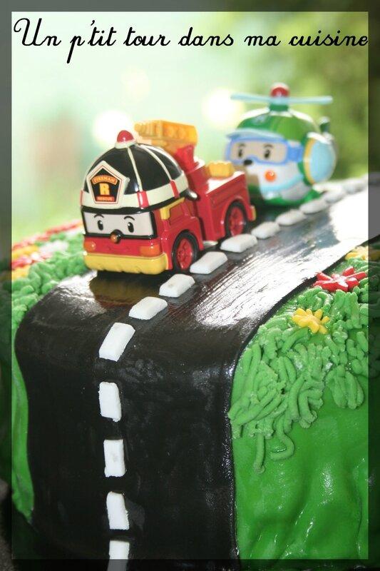 Gâteau Robocar Poli2