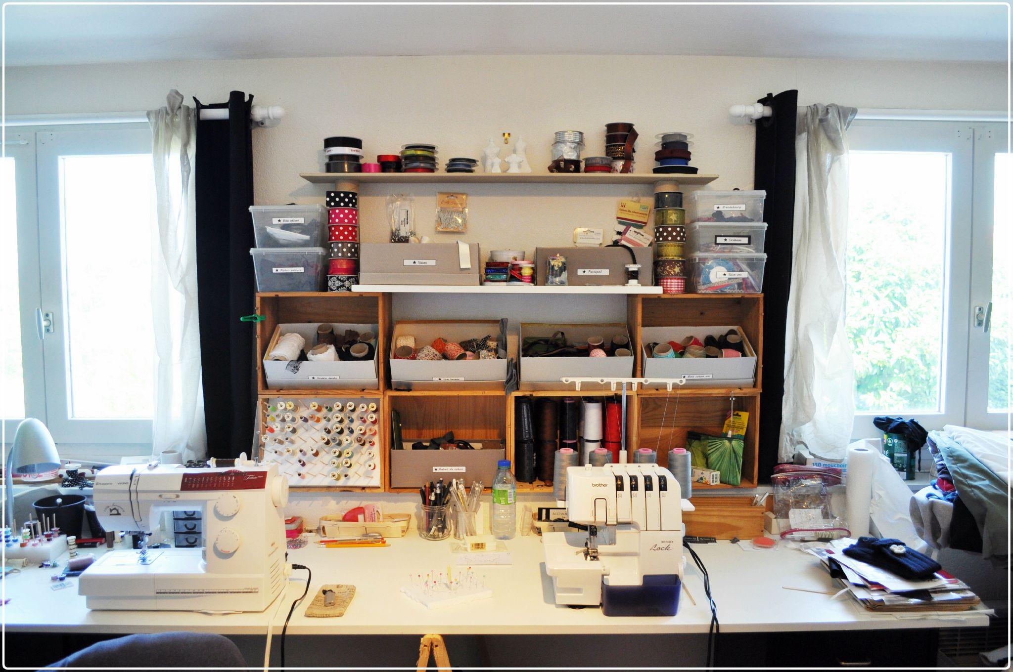 Rangement Atelier Mobilier Sur EnPerdreSonLapin