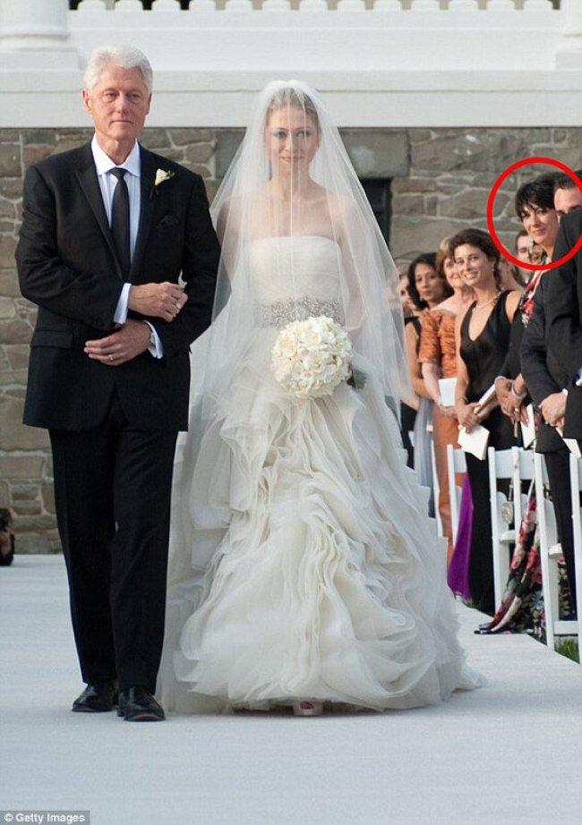 clinton wedding