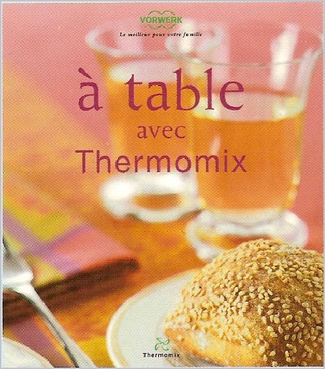Les Livres Thermomix Album Photos Recettes Thermomix