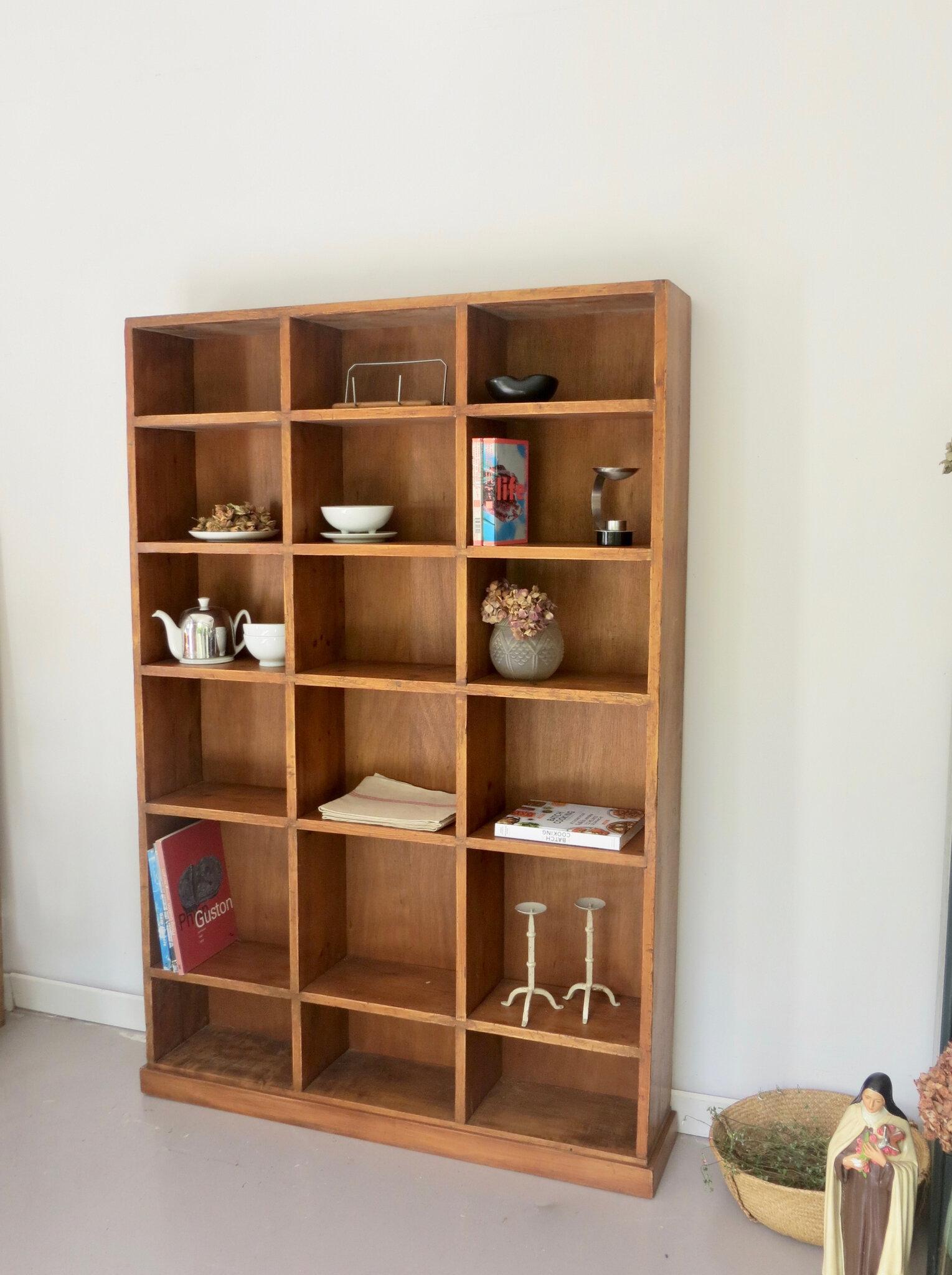 meuble casiers bois massif meubles