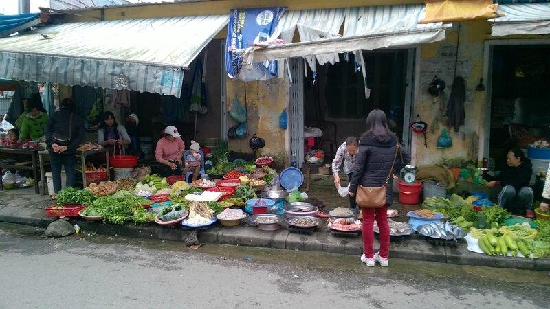 Marchés à Hué
