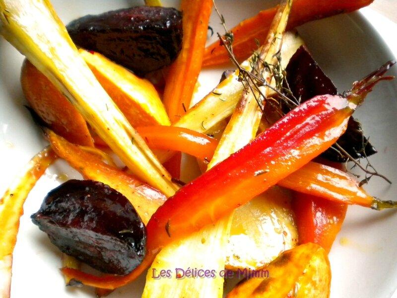 Légumes confits au four au sirop d'érable 6