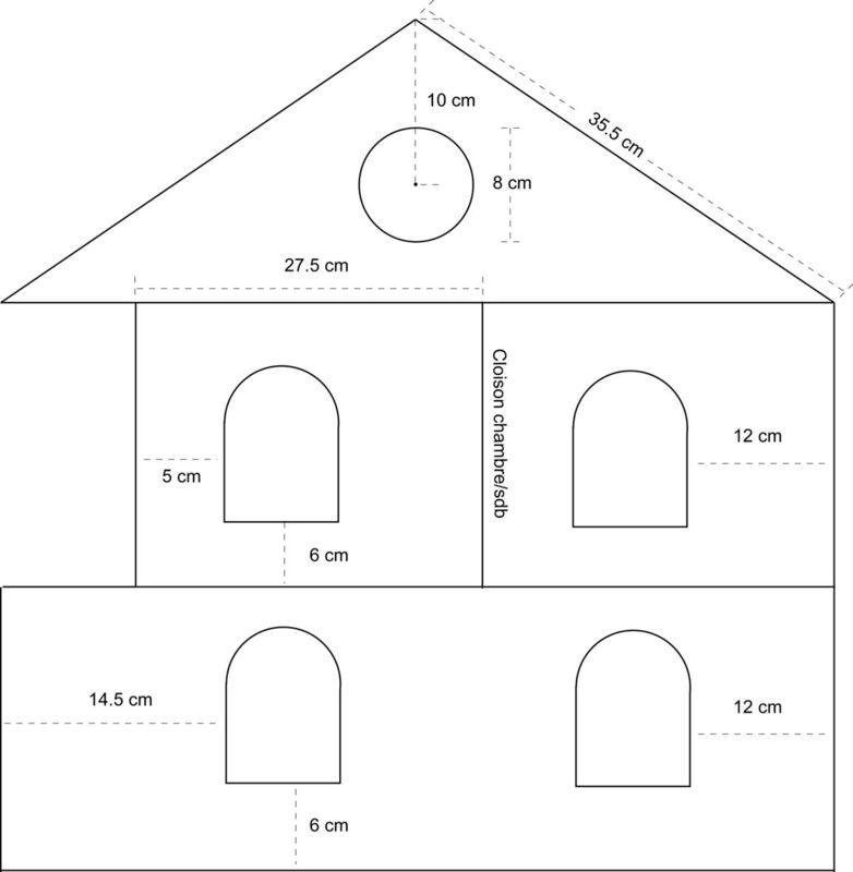 Plan Pour Fabriquer Une Maison En Papier