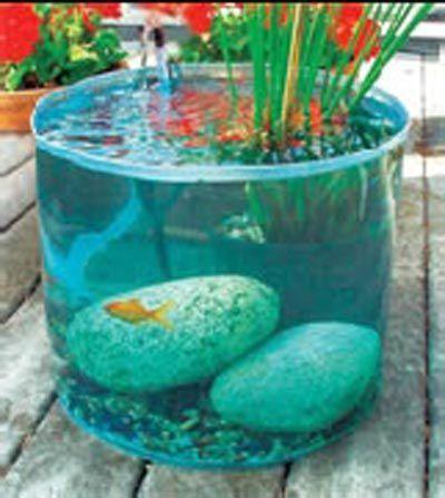 mini bassin pour mini espace mon
