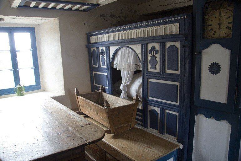 Linterieur Dune Maison Bretonne Cest La Rcr De Chocobn