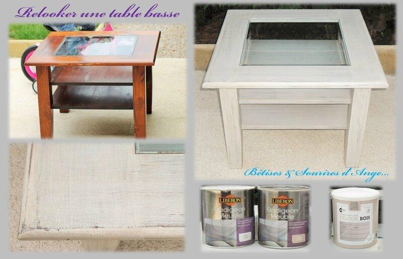 un meuble avec les produits liberon