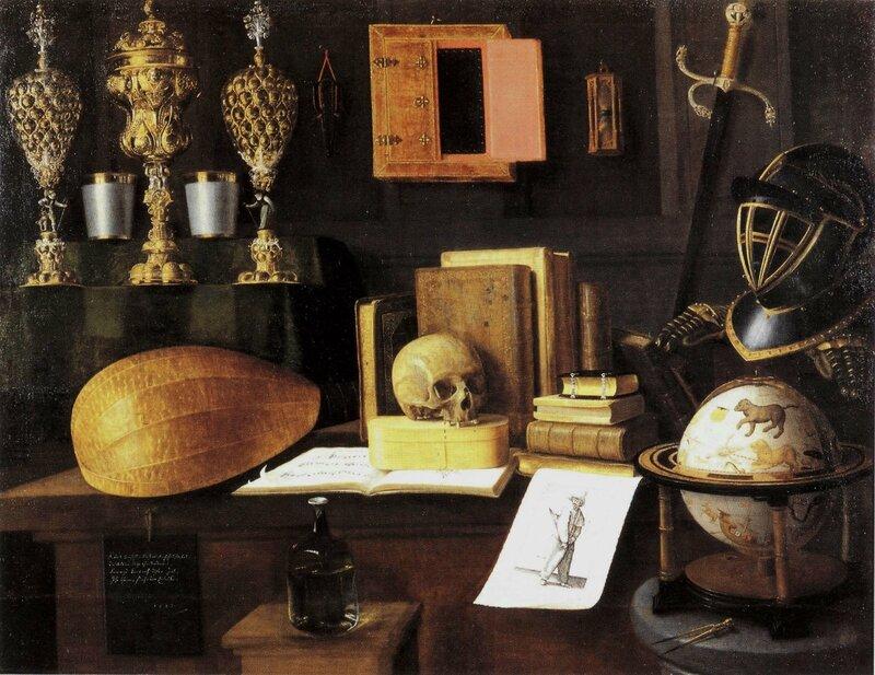 Grande vanité , hst , 125 x 165cm - musée de l'oeuvre Notre Dame , Strasbourg