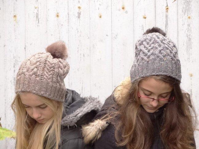 Les bonnets à pompon