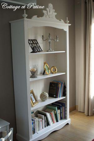 Bibliothque AVANT APRES Cottage Et Patine Le Blog