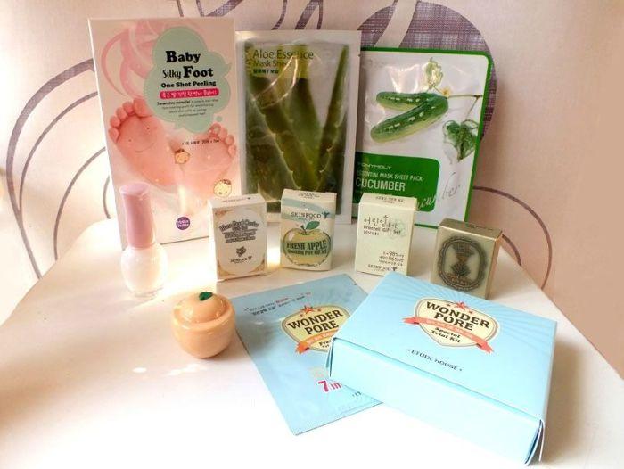 haul-shopping-cosmetiques-asiatiques-testerorea-peeling-babyfoot-holika-pore-etude-house-rony-moly-masque-tissu-skinfood-cactus-echantillons (1)