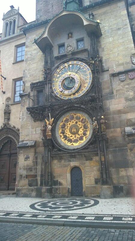L'horloge astronomique