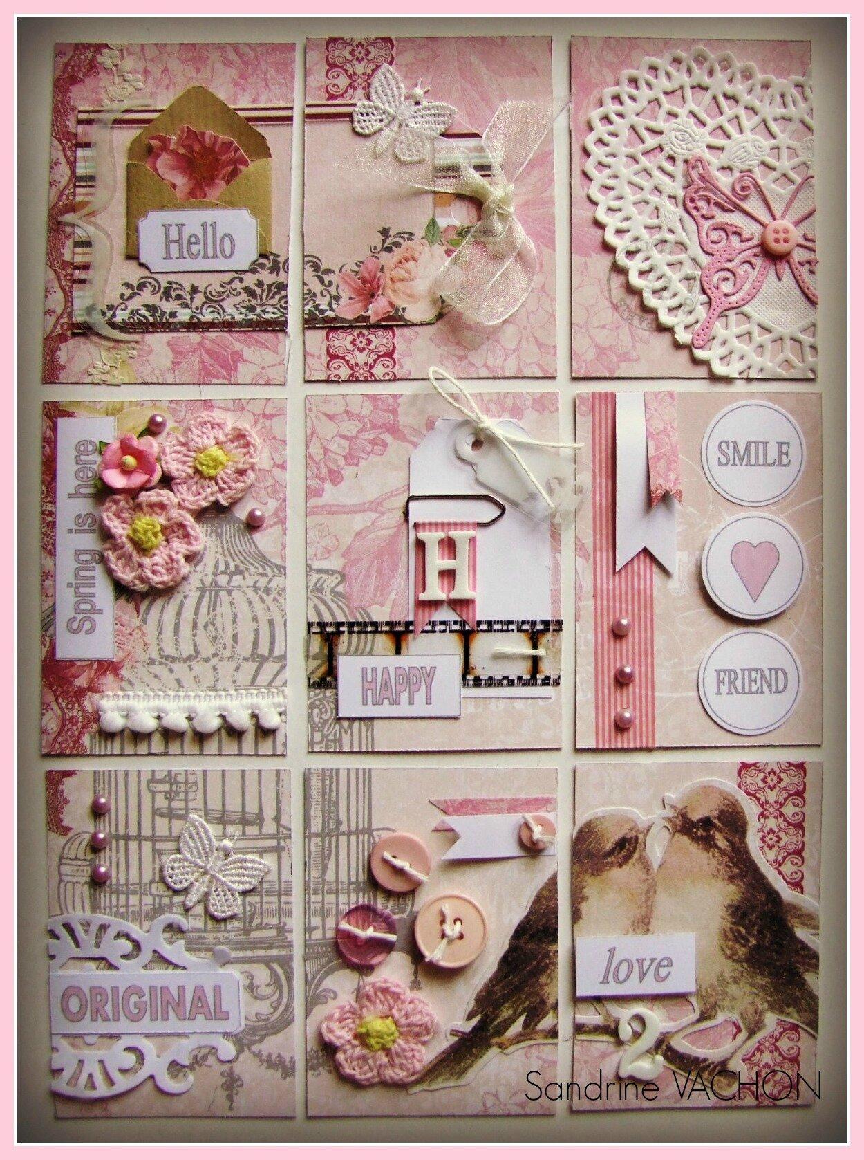 Pocket Letter Shabby Carterie De Sandrine VACHON
