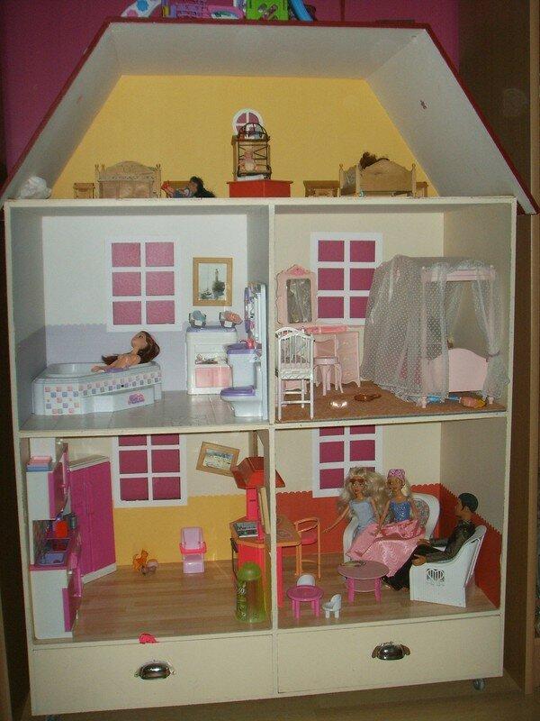Maison Barbie Photo De Dco Bricolo Les Pieds Dans LO