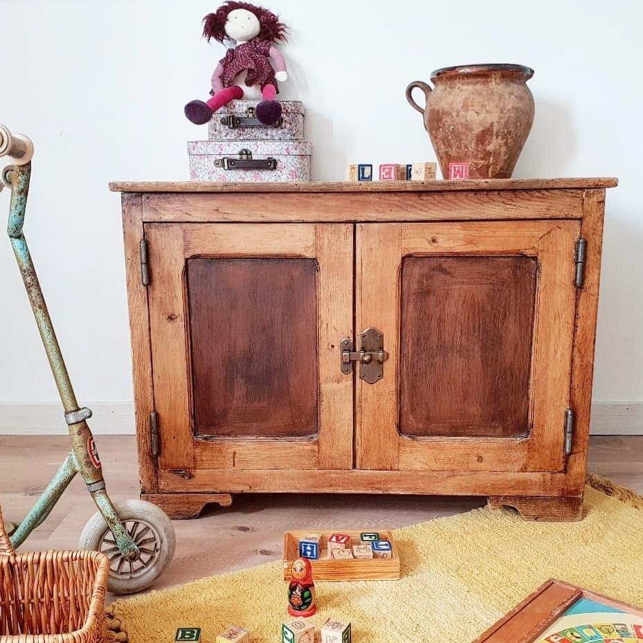 coffre rustique vintage h60 l80 p50