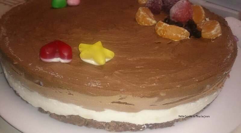Entremet 3 chocolats  -  les-passions-de-faby.com 05/12/2015
