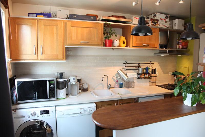 La Cuisine Ouverte Appartement F3 Vendre Asnires