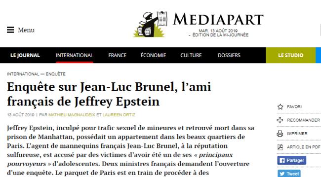 2019-08-13 12_44_57-Enquête sur Jean-Luc Brunel, l'ami français de Jeffrey Epstein _ Mediapart - Ope