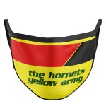 Retro The Hornets Yellow Army Face Mask