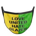 Retro Yellow & Green United Face Mask