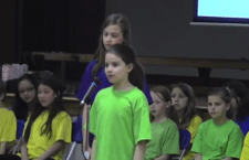 AISA – North Poplar Elementary students present to Mundy Road Elementary about PA-MOJA