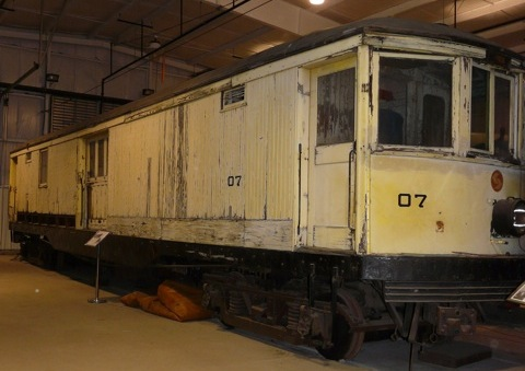 07 in the Trolley Display Building.