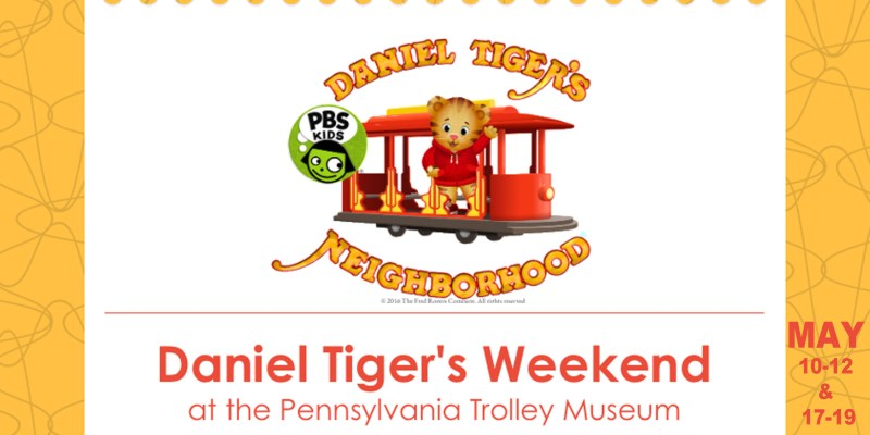 Daniel Tiger's Weekend at Pennsylvania Trolley Museum