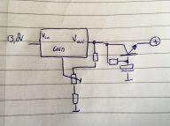 Voltage regulator WSPR-RX 2 with denoiser