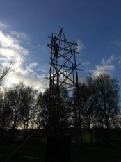 Almost done building the HF tower