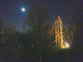 HF Tower by night
