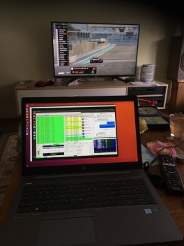 FT-8 while watching the race